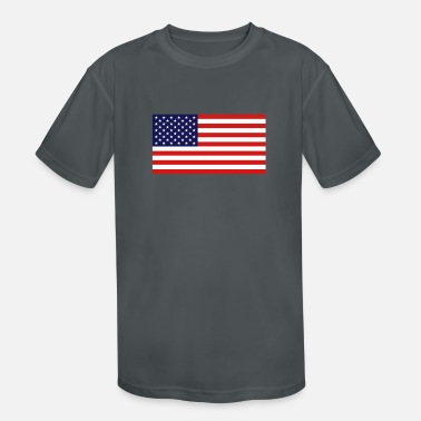 United States Flag - Kids' Sport T-Shirt
