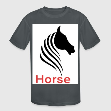 The original horse - Kid's Moisture Wicking Performance T-Shirt