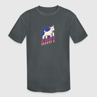 Baby Goat - Kid's Moisture Wicking Performance T-Shirt