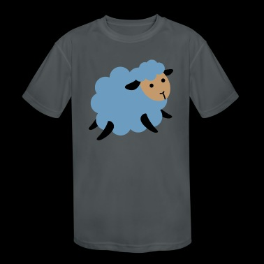 sheep - Kid's Moisture Wicking Performance T-Shirt