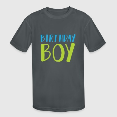 Birthday Boy 3 - Kid's Moisture Wicking Performance T-Shirt