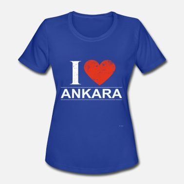 I Love Ankara I Love Ankara - Women's Moisture Wicking Performance T-Shirt