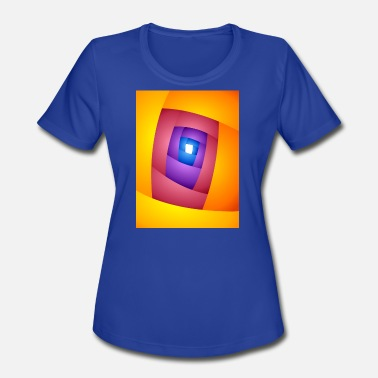 E V P ENTRY Abstract Art #01 - Women's Moisture Wicking Performance T-Shirt