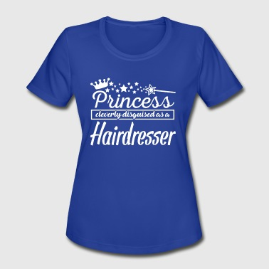 Hairdresser Girl Hairdresser - Women's Moisture Wicking Performance T-Shirt