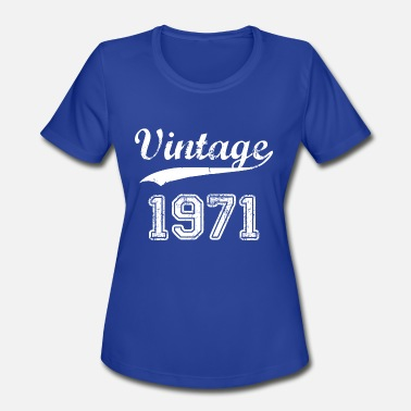 June 1971 1971 - Women's Sport T-Shirt