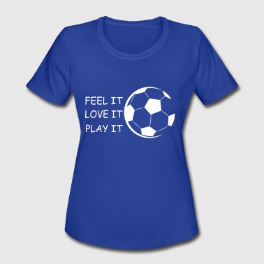 Stadium Sportswear Soccer Tee Gift Sport Ball Hobby Fun - Women's Moisture Wicking Performance T-Shirt