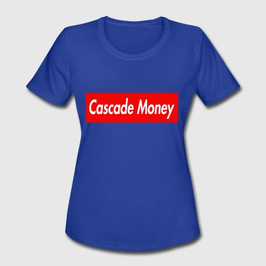 Cascade CASCADE MONEY - Women's Moisture Wicking Performance T-Shirt