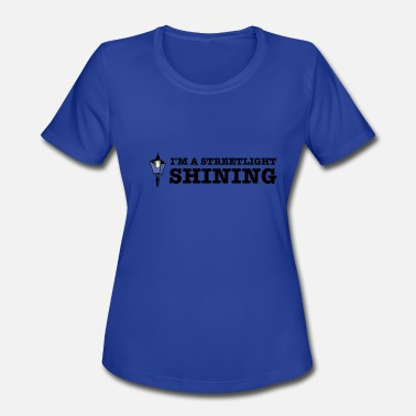Dave Grohl I'm a Streetlight Shining - Women's Moisture Wicking Performance T-Shirt