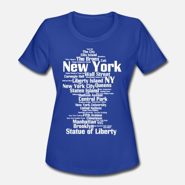 Central Park New York City (NY, NYC) - Women's Sport T-Shirt