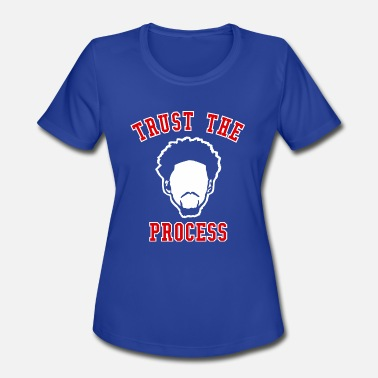 Trust The Process TRUST THE PROCESS TYPO - Women's Sport T-Shirt