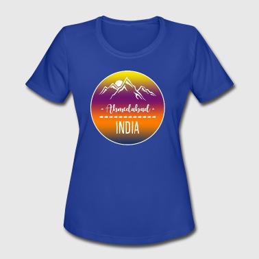 Ahmedabad India - Women's Moisture Wicking Performance T-Shirt