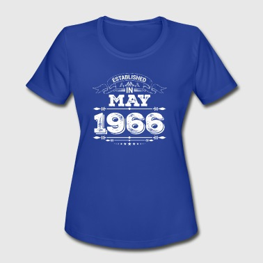 Established 1966 Established in May 1966 - Women's Moisture Wicking Performance T-Shirt