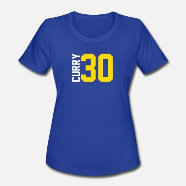 Indian Curry Curry Steph Curry 30 - Women's Moisture Wicking Performance T-Shirt
