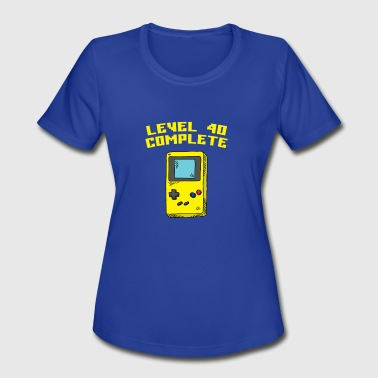 Level 40 Complete - Women's Moisture Wicking Performance T-Shirt