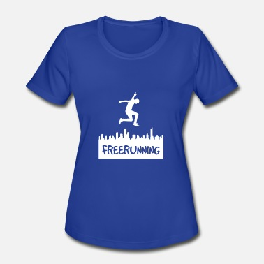 Freerunning Freerunning Men - Women's Moisture Wicking Performance T-Shirt