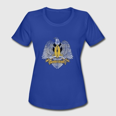 Sudanese Sudanese Coat of Arms Sudan Symbol - Women's Moisture Wicking Performance T-Shirt