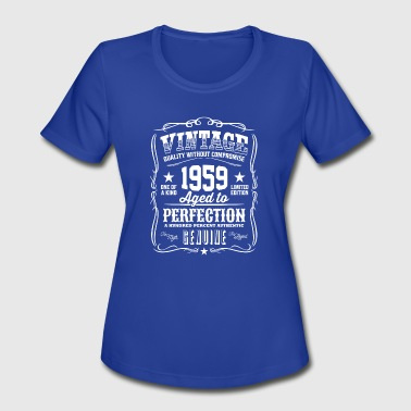 Vintage 1959 Vintage 1959 Aged to Perfection - Women's Moisture Wicking Performance T-Shirt