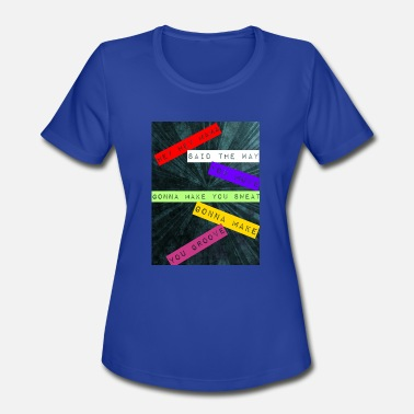 Led Zeppelin Funny Zeppelin - Women's Moisture Wicking Performance T-Shirt