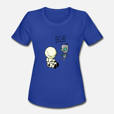 Precocial Don't Be Sad. Let's Get Tacos! - Women's Moisture Wicking Performance T-Shirt