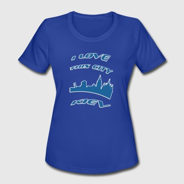 I Love Kiev KIEV I love this city - Women's Moisture Wicking Performance T-Shirt
