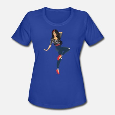 Slayed Slay - Women's Moisture Wicking Performance T-Shirt