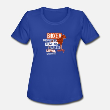 Devotional Music Devoted Boxer - Women's Sport T-Shirt