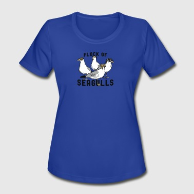 Flock Of Seagulls - Women's Moisture Wicking Performance T-Shirt