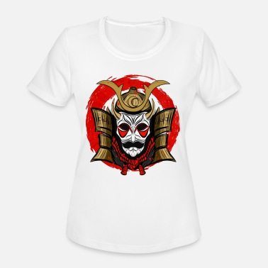 Red Samurai Samurai with red circle - Women's Sport T-Shirt