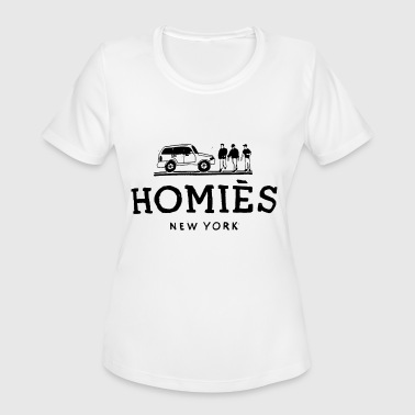 Dope Army Homies New York Paris Criminal Swag Damage - Women's Moisture Wicking Performance T-Shirt