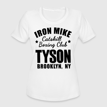 Mike Iron Iron mike catskill boxing club tyson brooklyn ny g - Women's Moisture Wicking Performance T-Shirt