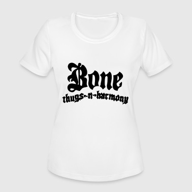 Bones Rap Bone Thugs Harmony American Music Rap Rapper Khale - Women's Moisture Wicking Performance T-Shirt