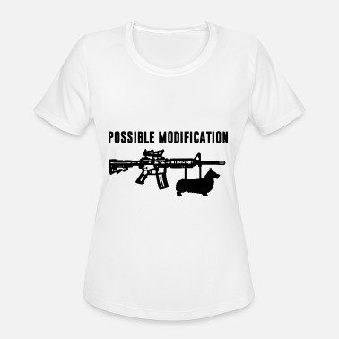 Bayonet Possible Modification Corgi Bayonet - Women's Moisture Wicking Performance T-Shirt