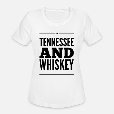 Smooth As Tennessee Whiskey Tennessee and Whiskey - Women's Moisture Wicking Performance T-Shirt