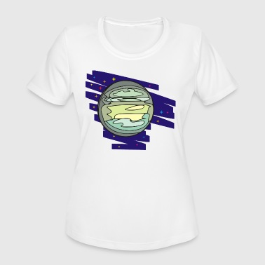 Planet Tranquility - Women's Moisture Wicking Performance T-Shirt