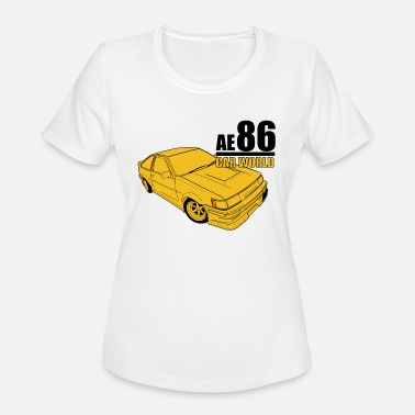 Ae86 Toyota AE86 - Women's Moisture Wicking Performance T-Shirt