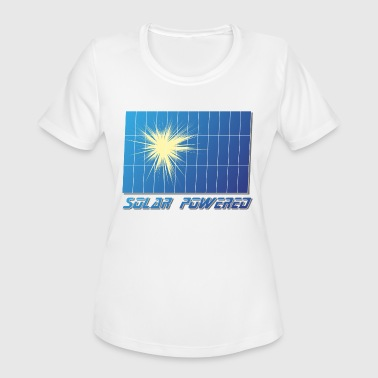 Environmental Activist Great Proud Solar Environmental Activists - Women's Moisture Wicking Performance T-Shirt