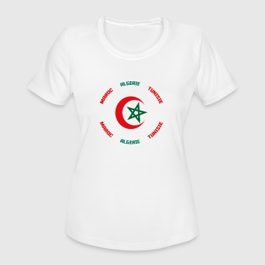 Tee shirt maghreb united - Women's Moisture Wicking Performance T-Shirt