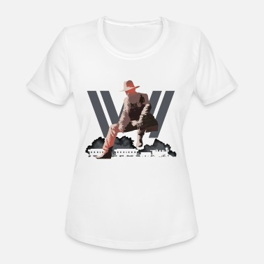 Black Man The Black Man - Women's Moisture Wicking Performance T-Shirt