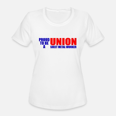 Sheet Metal union sheet metal worker - Women's Sport T-Shirt