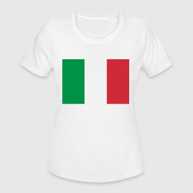 Italy Flag Flag of Italy - Women's Moisture Wicking Performance T-Shirt