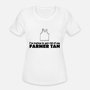 Tan Farmer Tan - Women's Sport T-Shirt