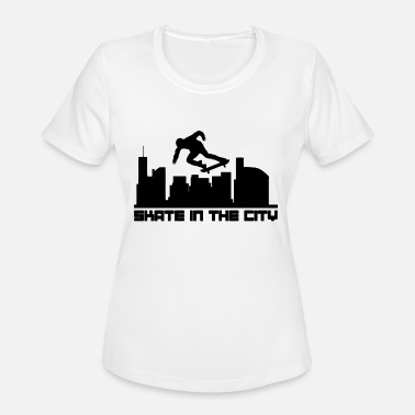 Christian Skate Wear Skate - Skate In The City - Women's Sport T-Shirt