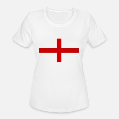 England England flag Saint George Cross - Women's Sport T-Shirt
