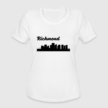Richmond Va Richmond VA Skyline - Women's Moisture Wicking Performance T-Shirt