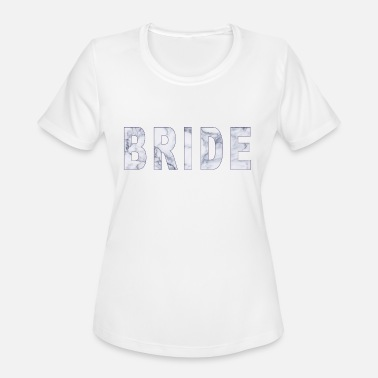 Bride marble - Women's Moisture Wicking Performance T-Shirt