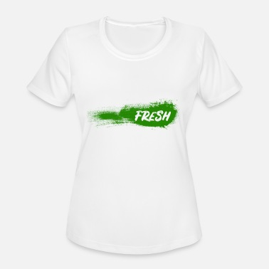 Healthy Lifestyle FRESH - Healthy lifestyle - Gift - Women's Moisture Wicking Performance T-Shirt
