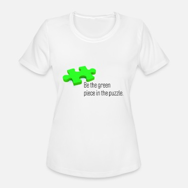 Environmental Sustainability - environmentally friendly - green - Women's Moisture Wicking Performance T-Shirt