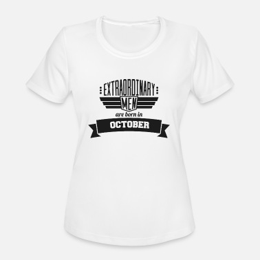 10 October 10 Extraordinary October - Women's Moisture Wicking Performance T-Shirt