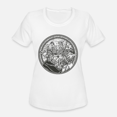 Odins Ravens Odin and his ravens - Women's Sport T-Shirt