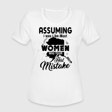 Alaska Womens Alaska Women Shirt - Women's Moisture Wicking Performance T-Shirt